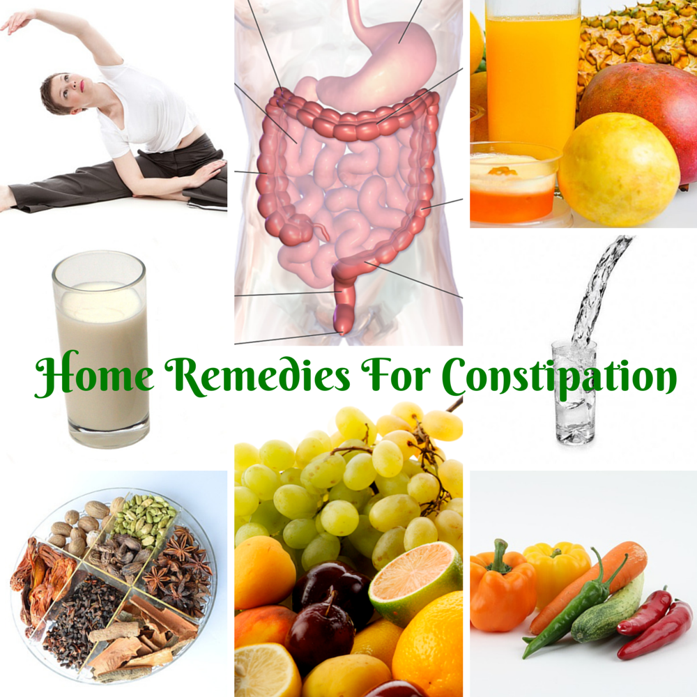 Constipation and laxative in the home