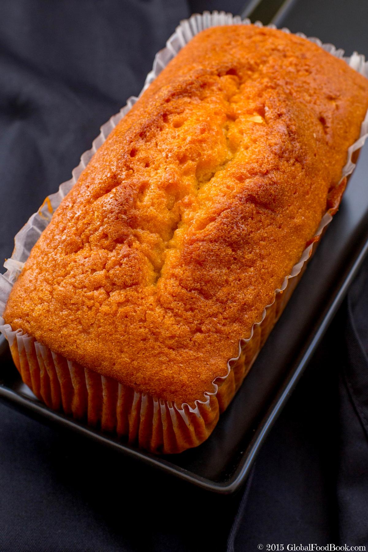 Traditional Madeira Cake