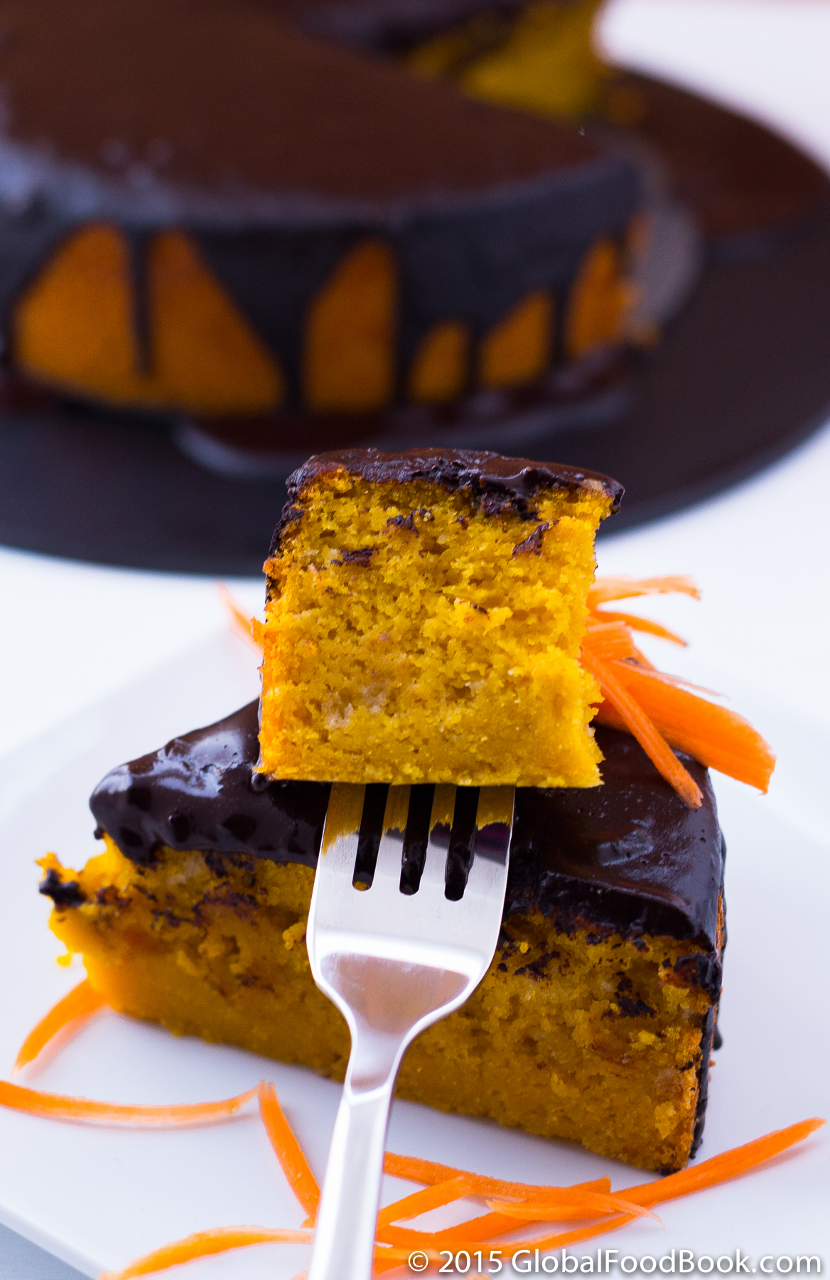Brazilian carrot cake with chocolate icing forumfinder Gallery