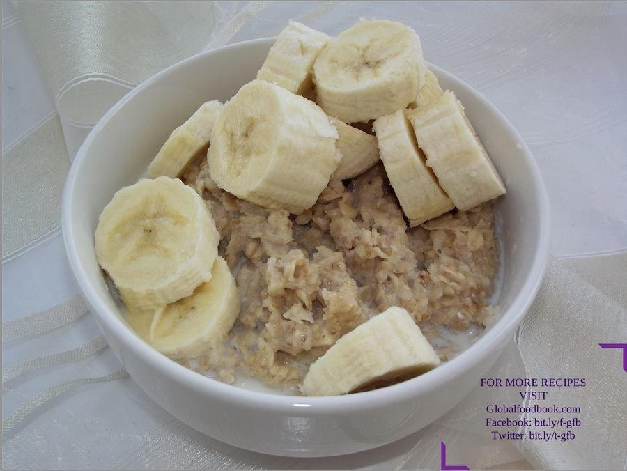 OATMEAL BANANA RECIPE