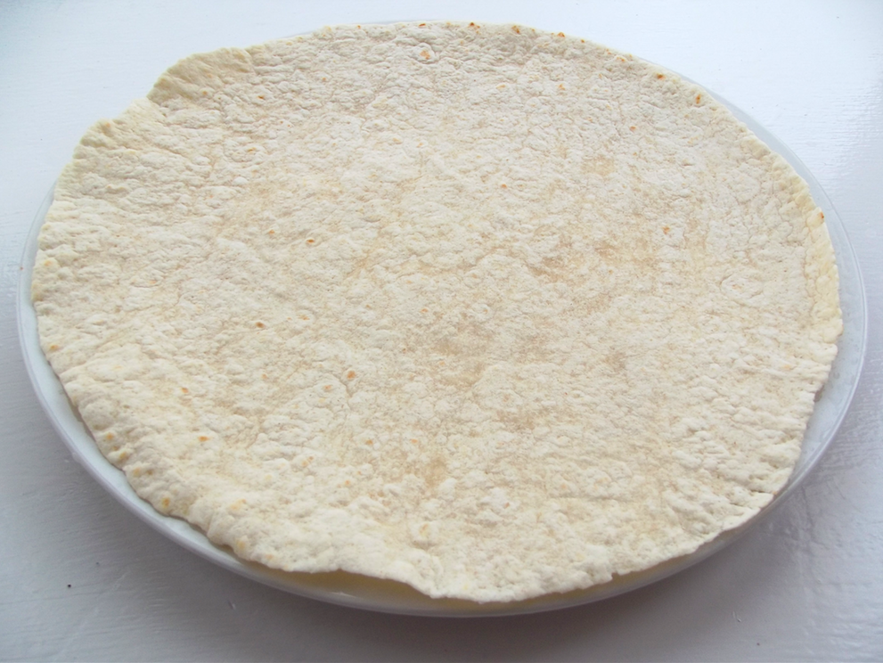 plain tortilla