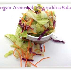 Vegan Assorted Vegetables Salad