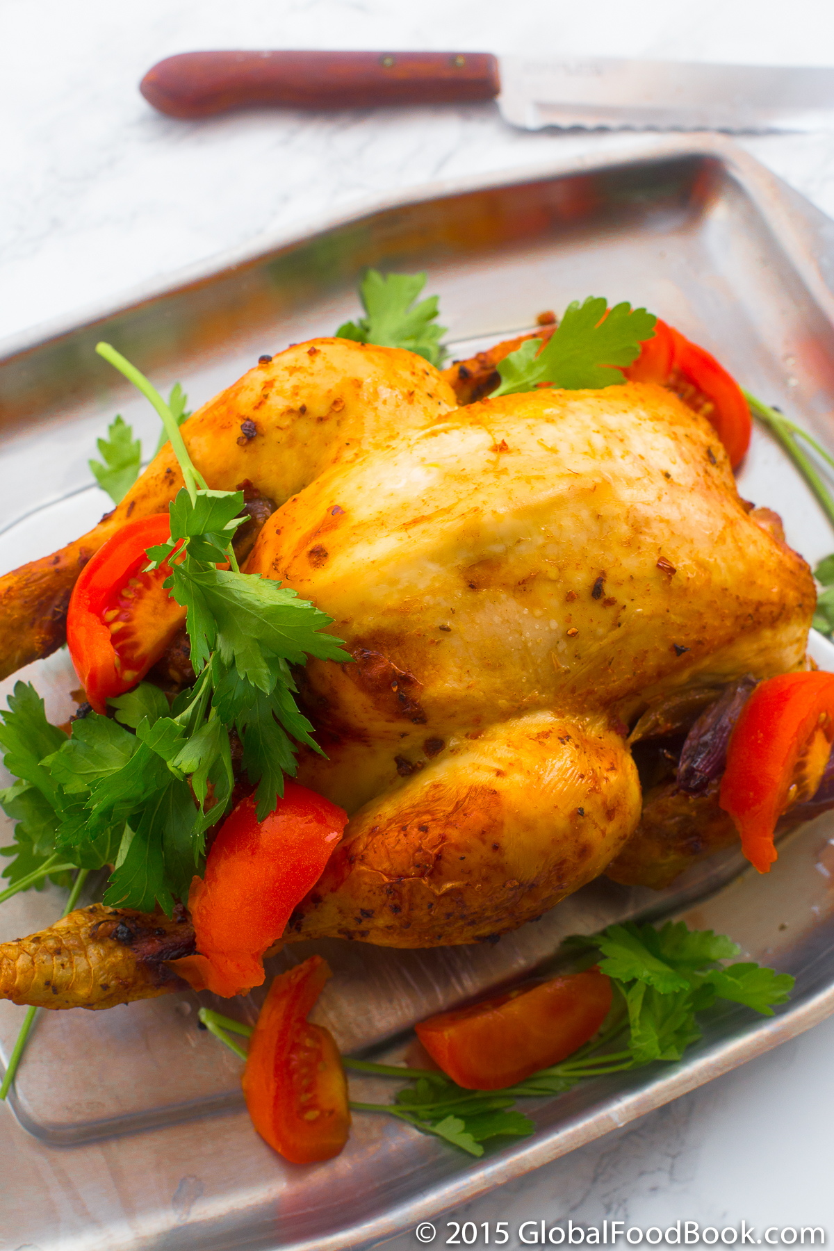 HONEY LEMON ROASTED CHICKEN
