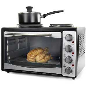 Small countertop convection microwave oven