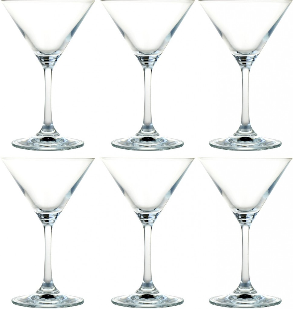 martini cocktail glasses.