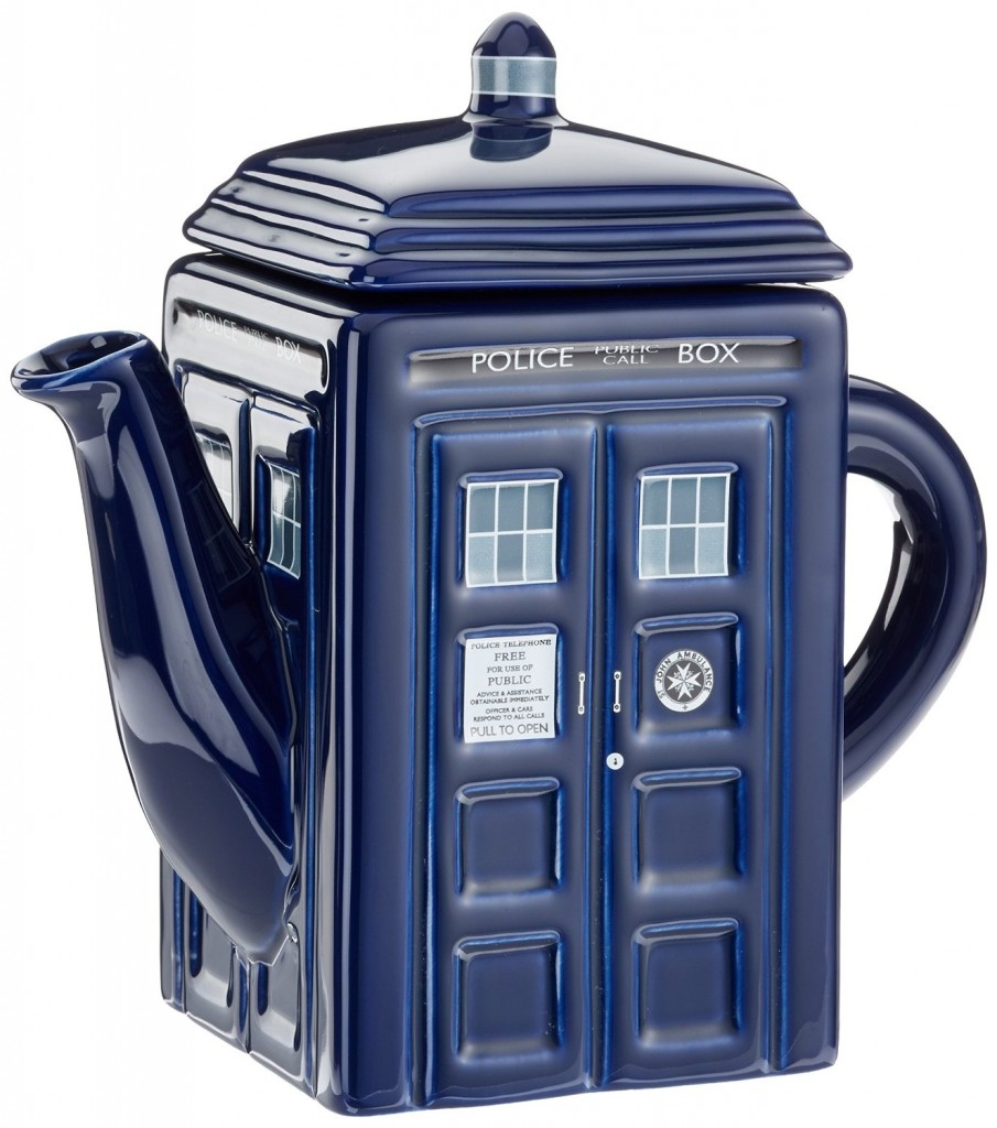 Doctor Who Tardis Teapot..