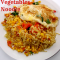 Omelette and Vegetables Noodle Recipe