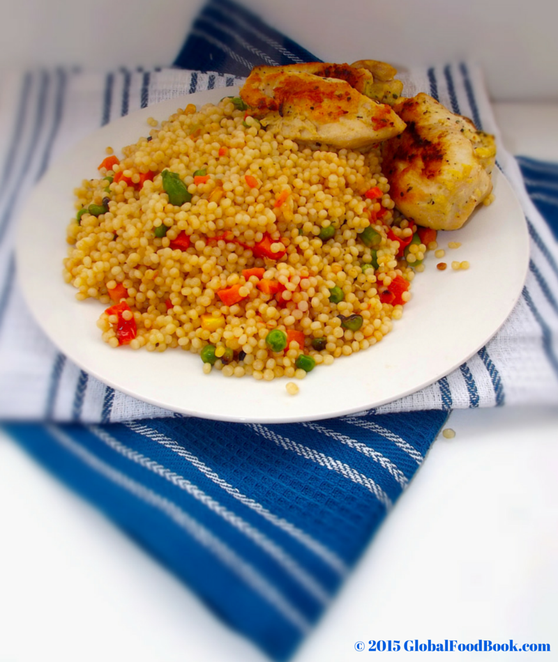 Mediterranean Vegetable Couscous Recipe