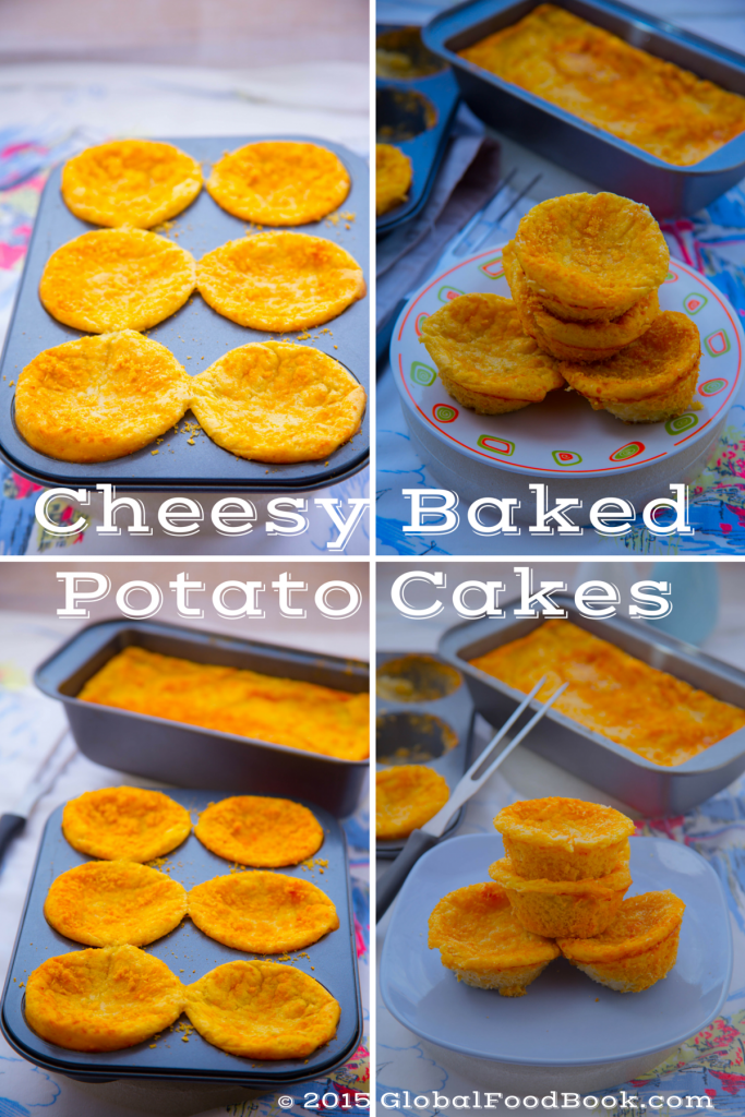 Cheesy baked potato cakes (11)