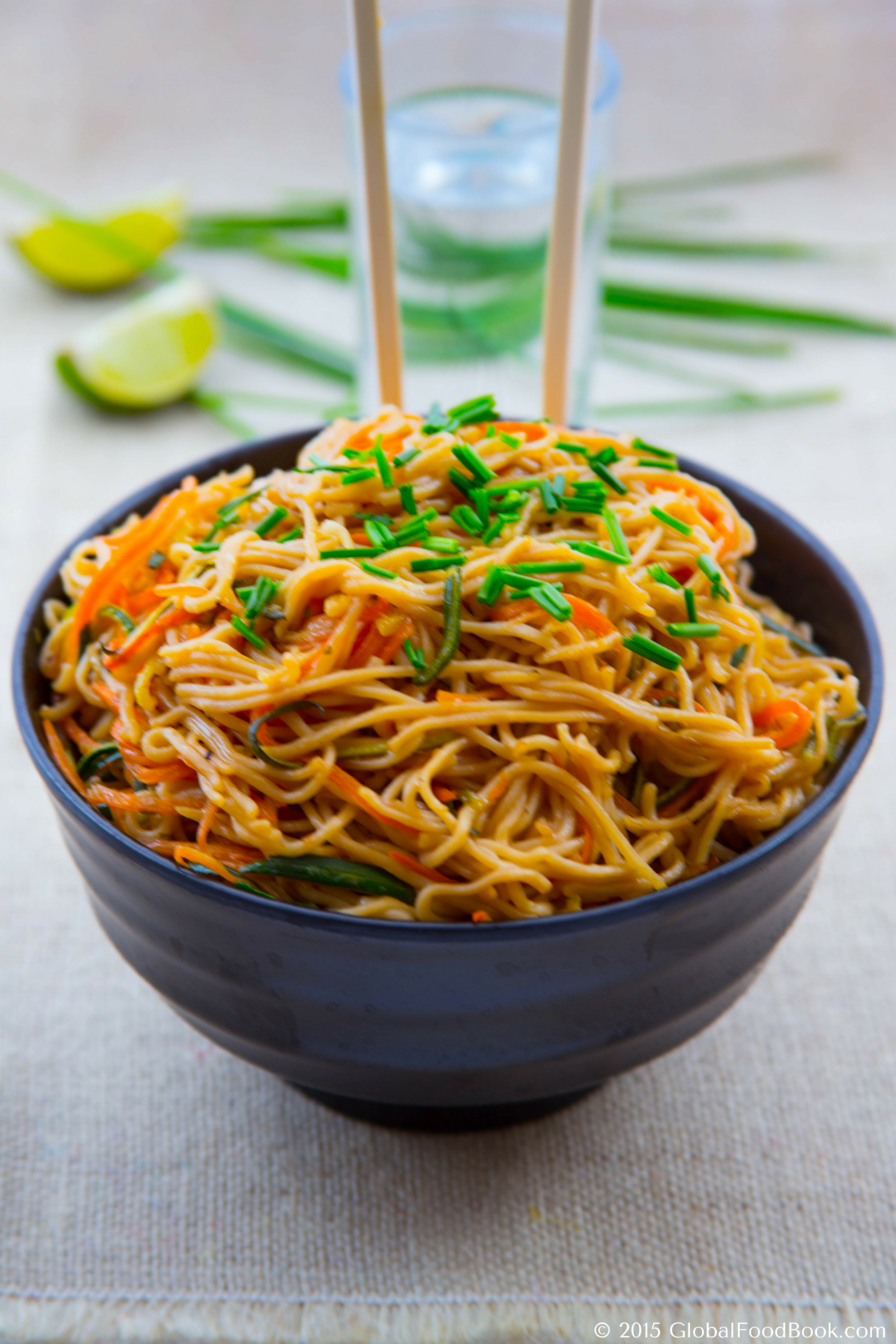 chinese zucchini and carrot noodles