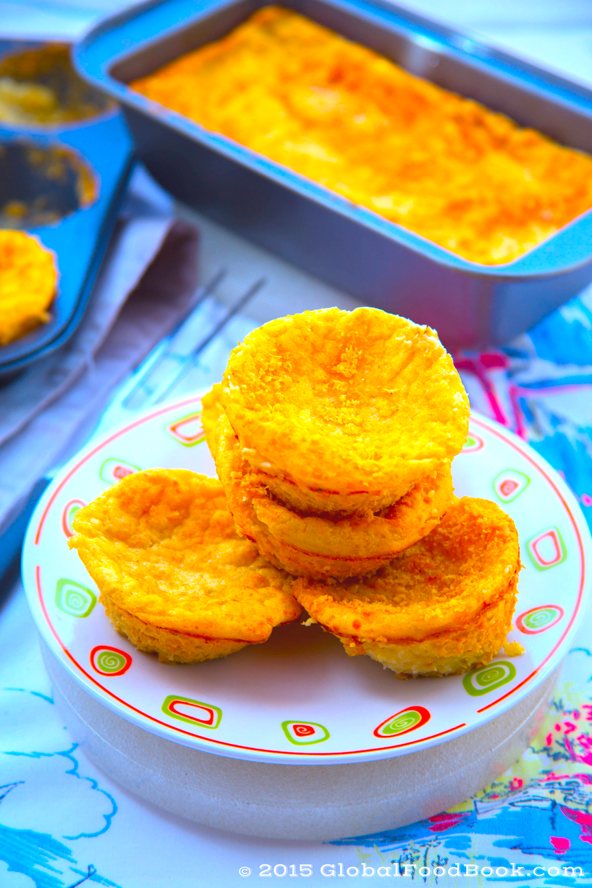 CHEESY BAKED POTATO CAKES