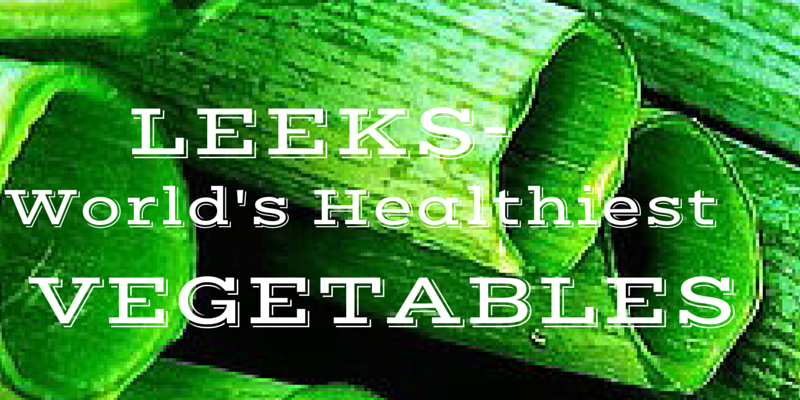 Leek_World's_Healthiest_vegetables