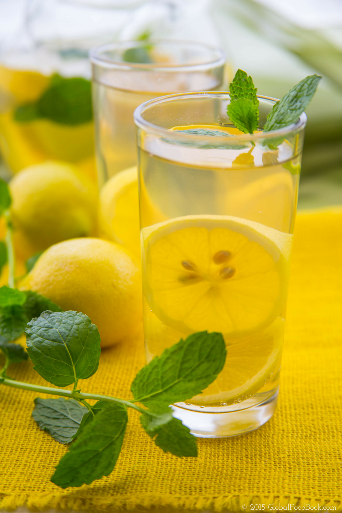 LEMON AND MINT WATER (1)