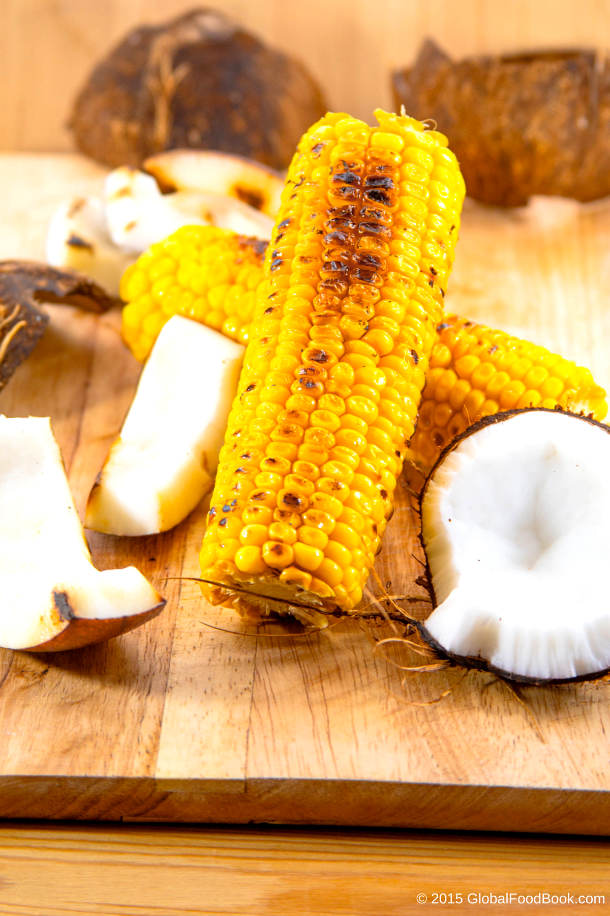 GRILLED CORN WITH COCONUT (1)