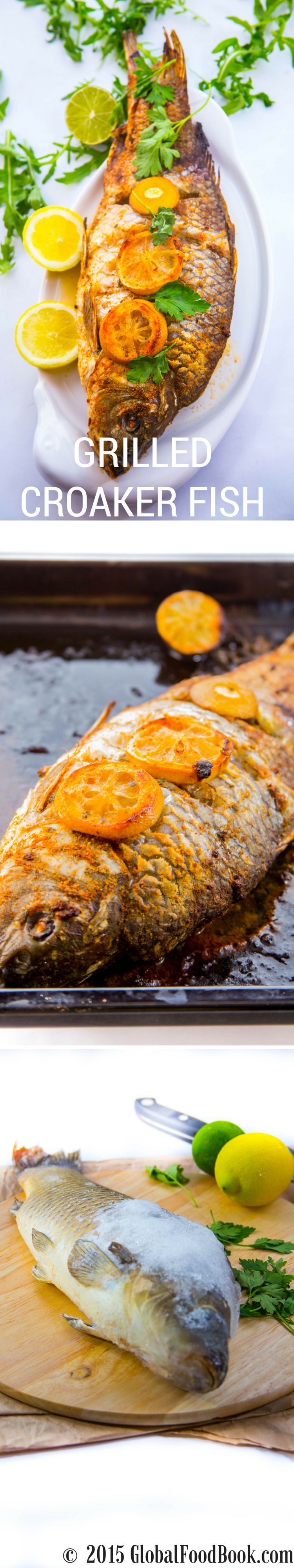 grilled croaker fish recipe