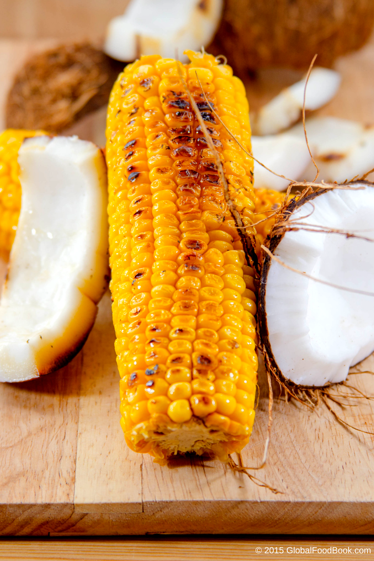 ROASTED SWEET CORN WITH COCONUT