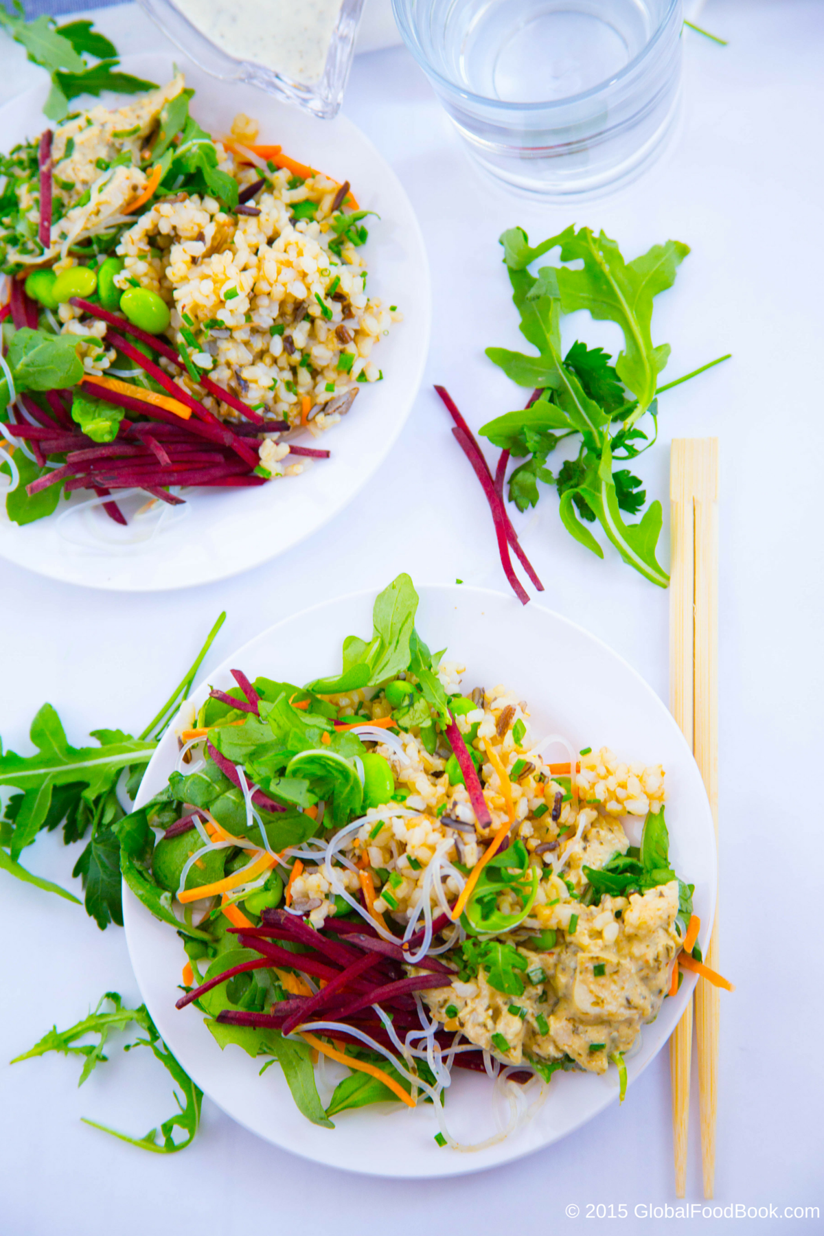 GREEN THAI CHICKEN AND WILD RICE SALAD