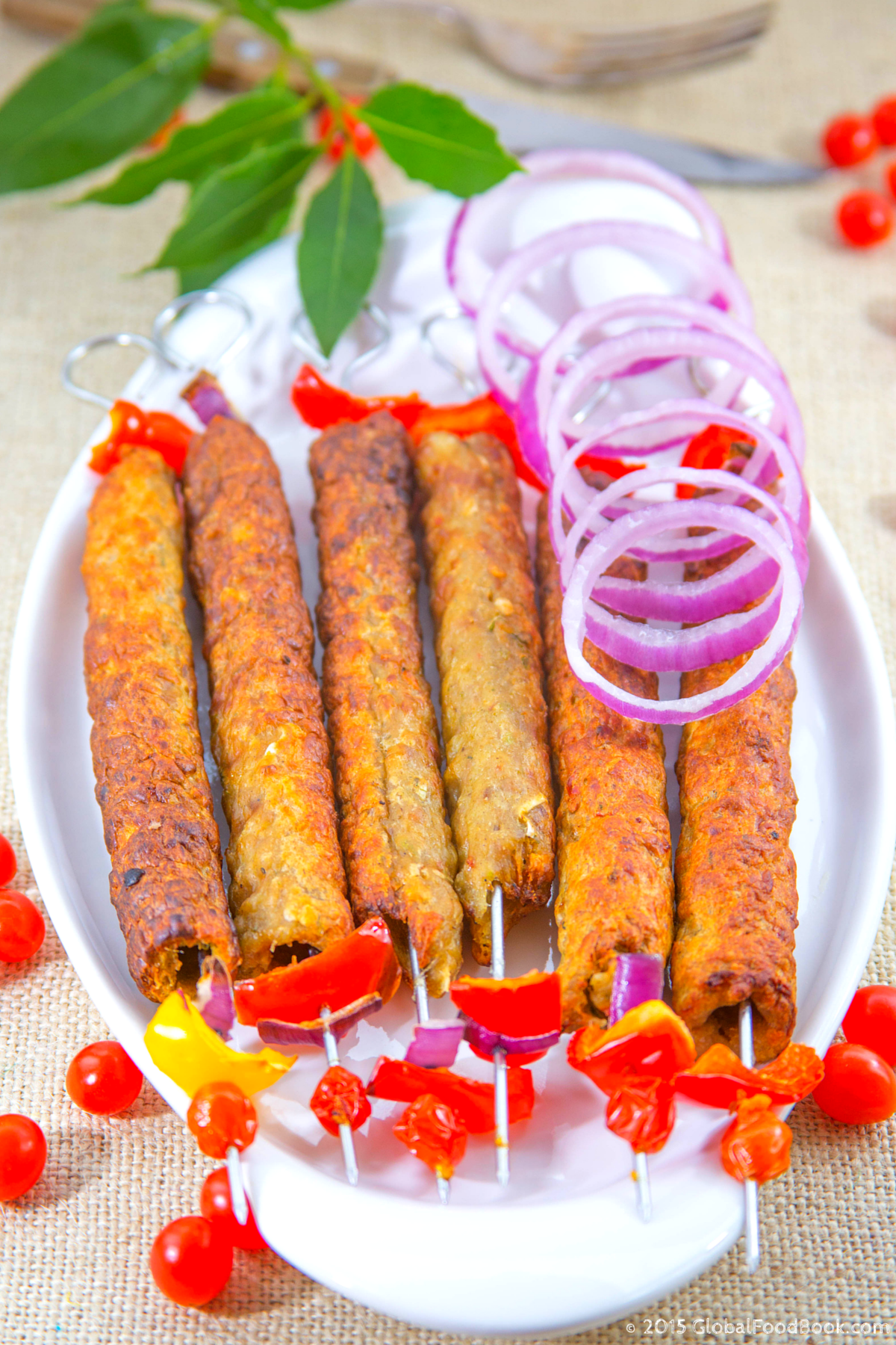 Chicken Sheekh Kabab (3)