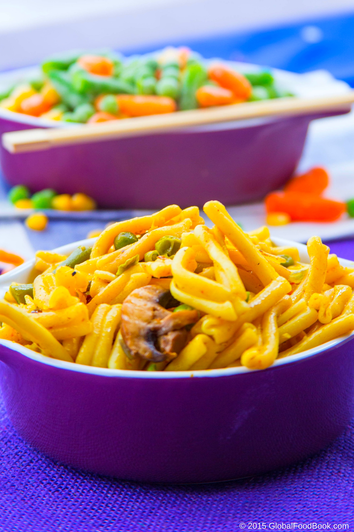 garofalo pasta with vegetables (1)