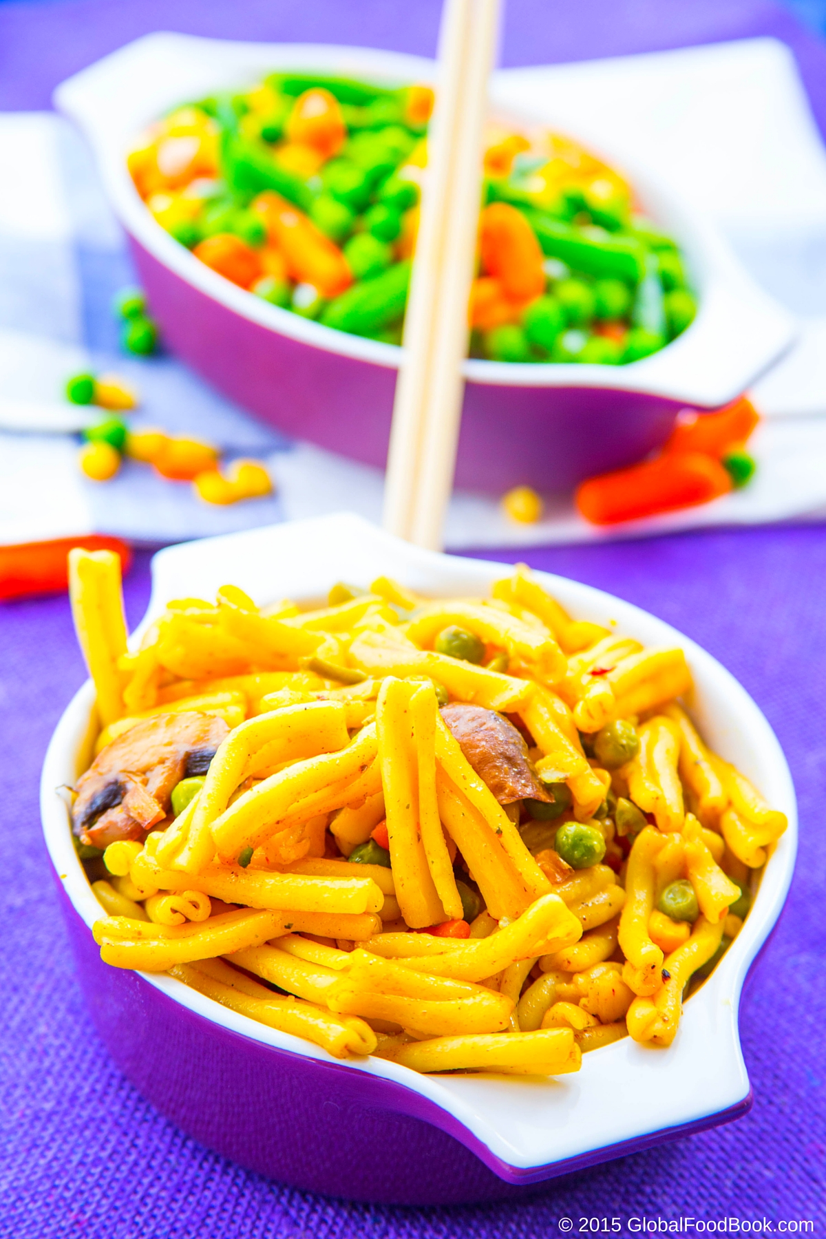 garofalo pasta with vegetables (3)