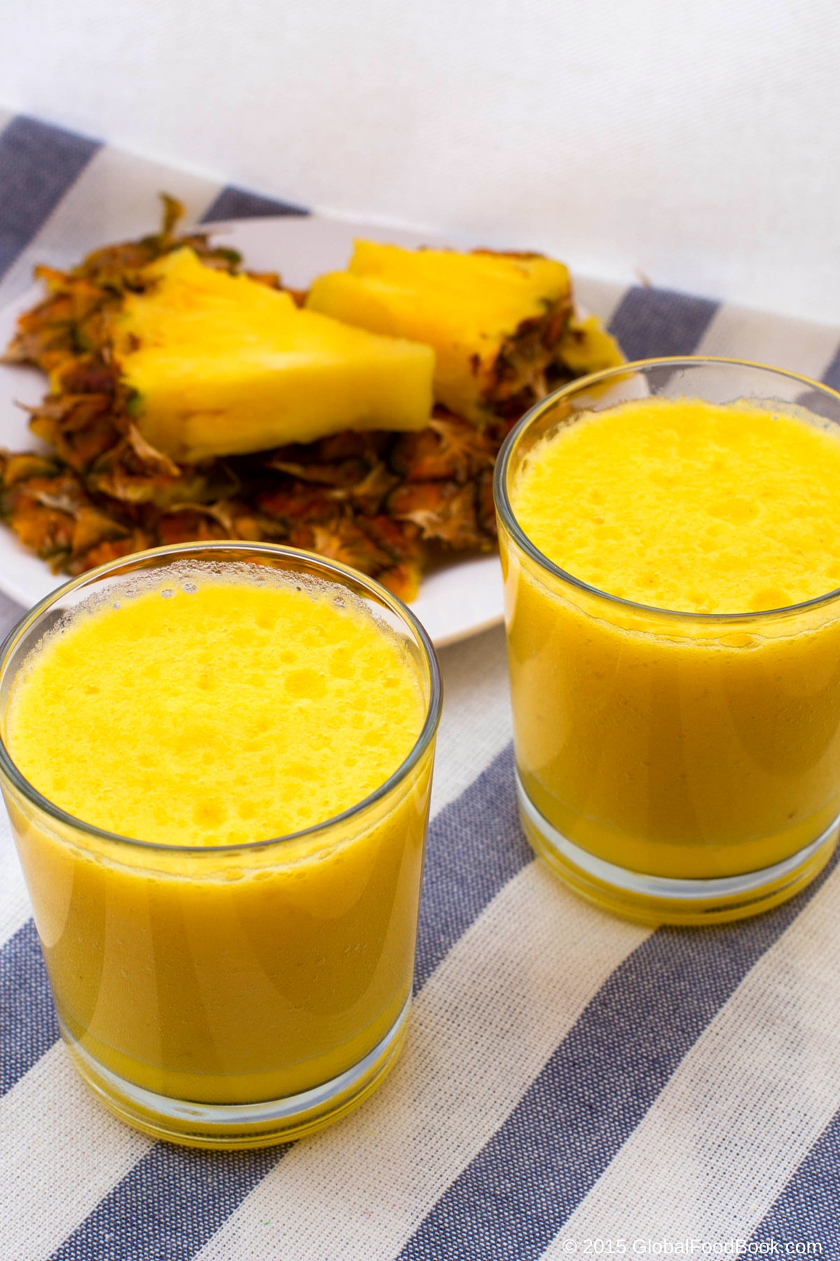 pineapple smoothie (1)