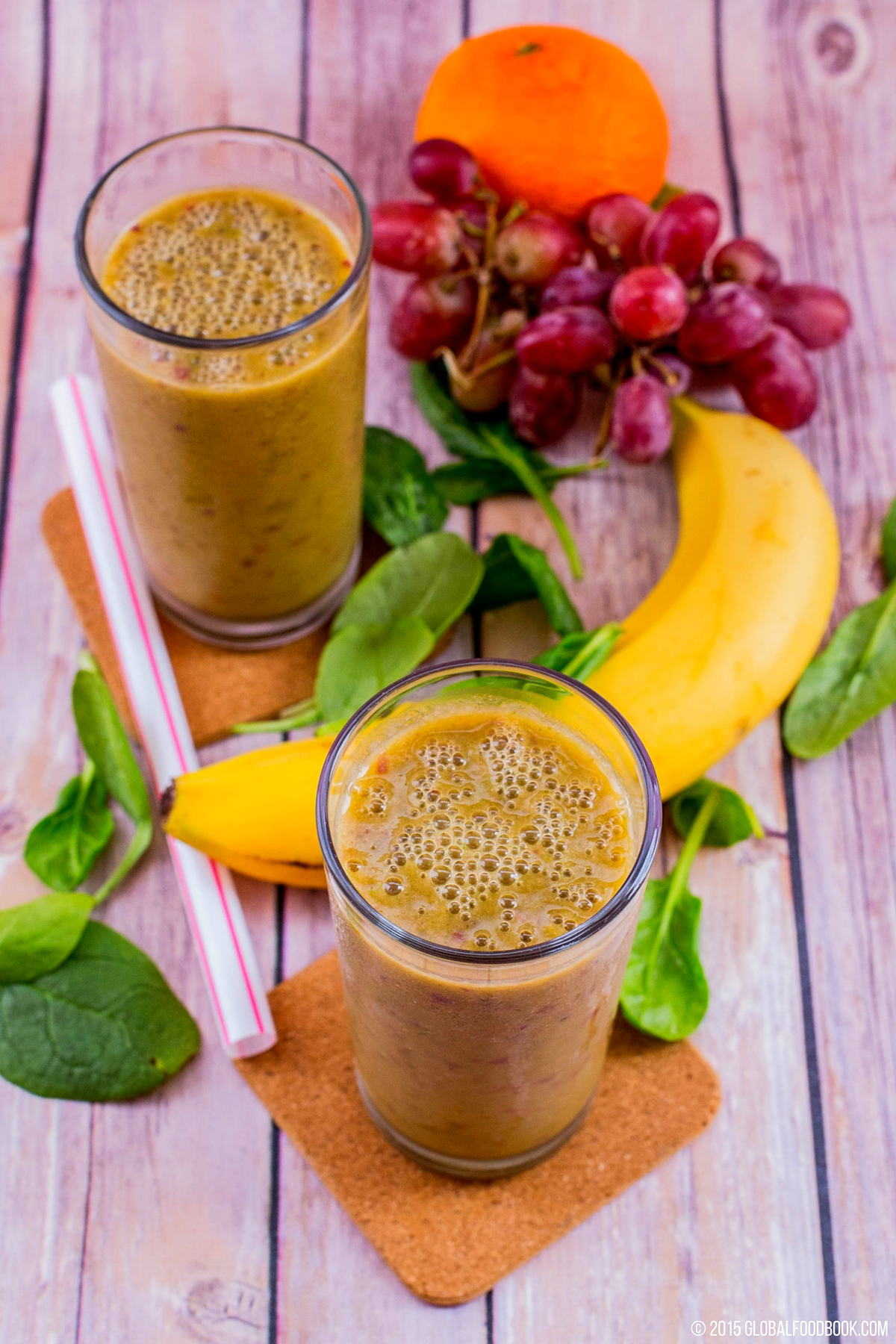 FRUITS AND VEGETABLES SMOOTHIE