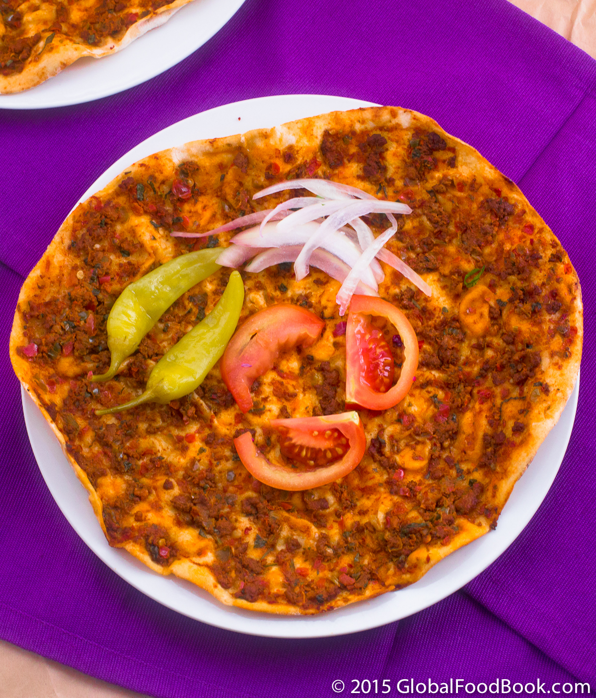 lahmacun turkish pizza