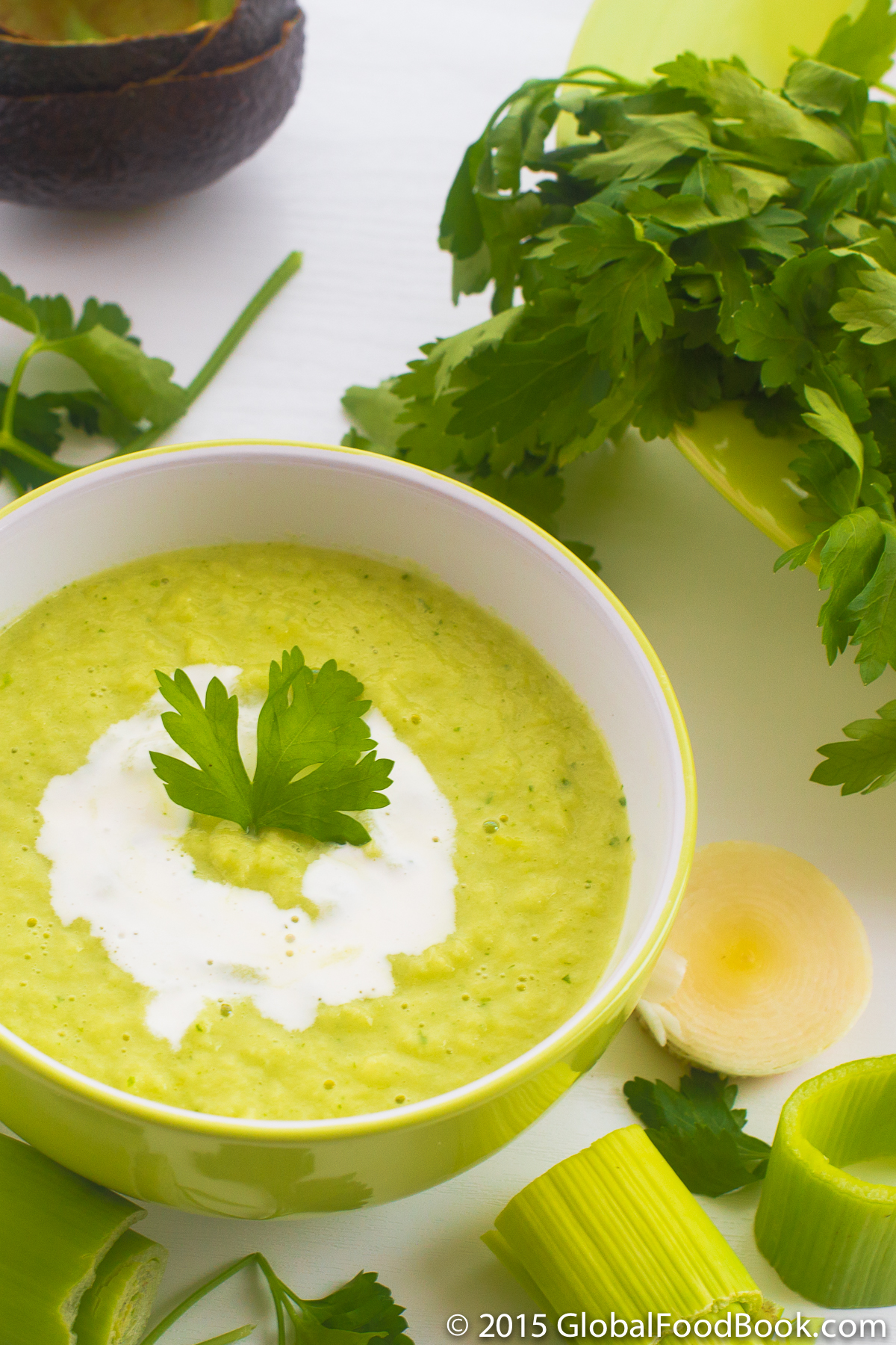 leek, parsley and avocado soup-3