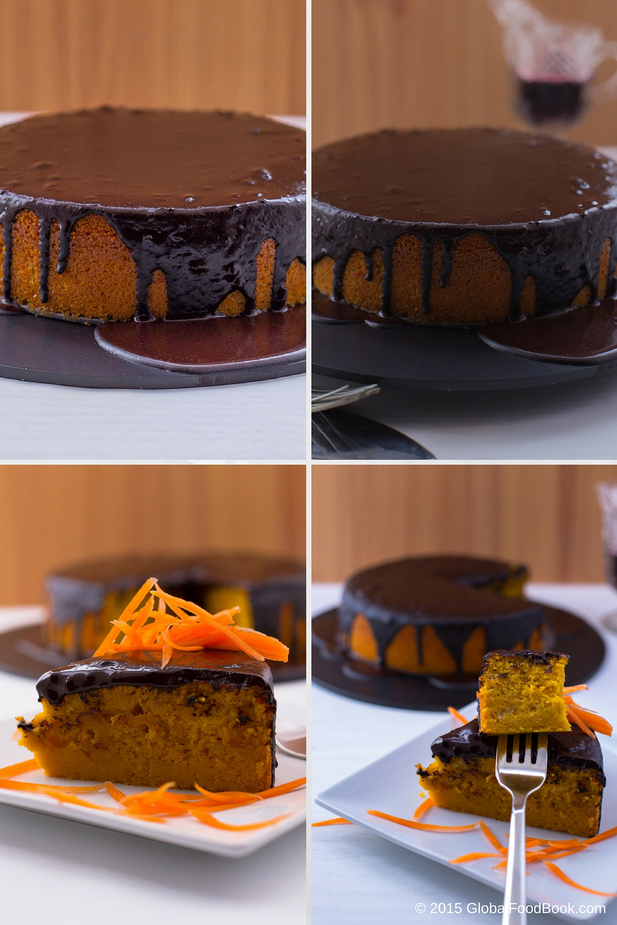 BRAZILIAN CARROT CAKE WITH CHOCOLATE ICING (2)