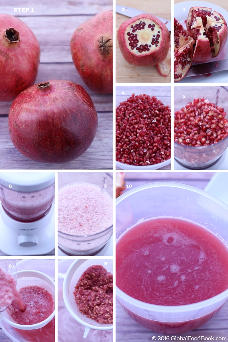 how to make pomegranate juice (1)
