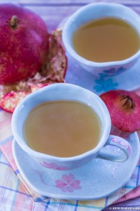 POMEGRANATE PEEL TEA