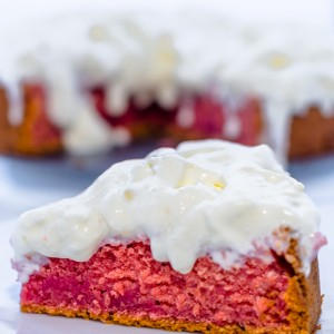 EGGLESS BEETROOT CAKE