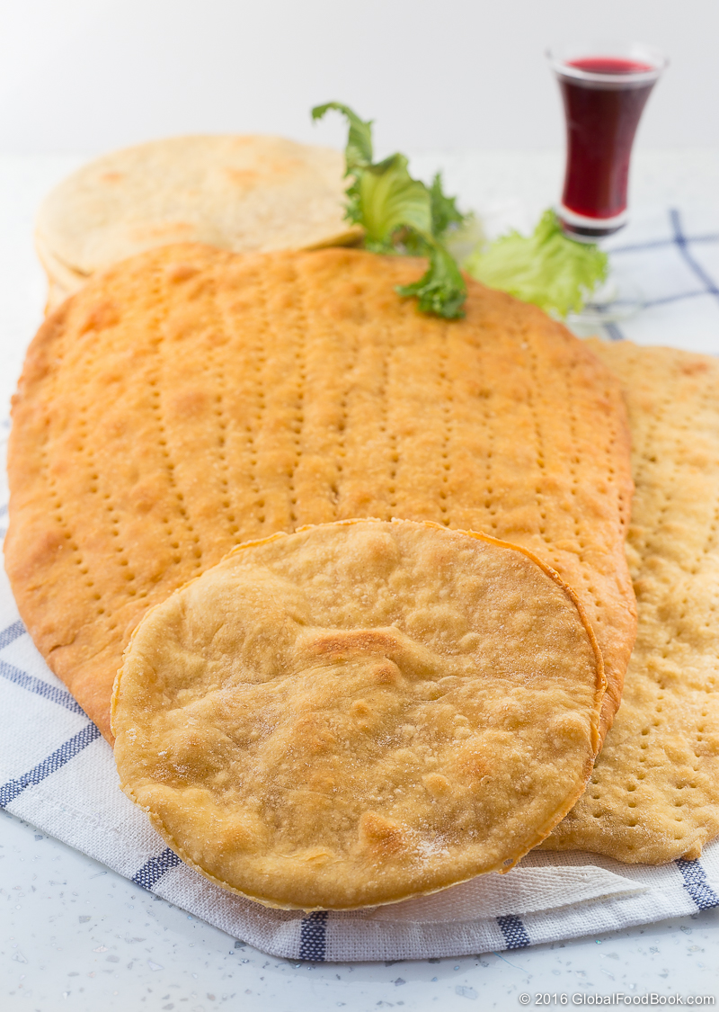 unleavened flat bread