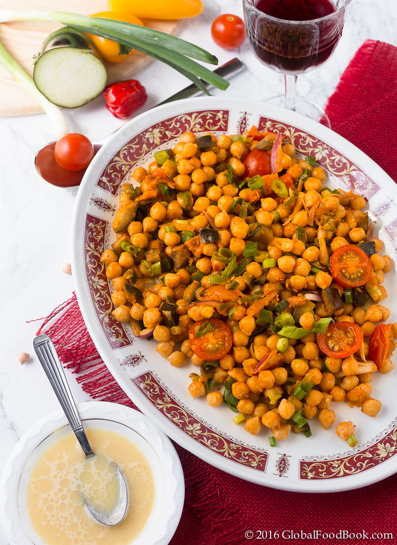 moroccan chickpea and vegetables-3