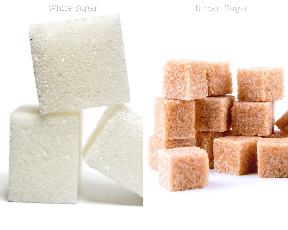 White Sugar and Brown Sugar