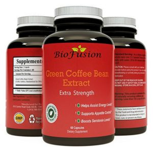 Pure Green Coffee Bean Extract Supplement