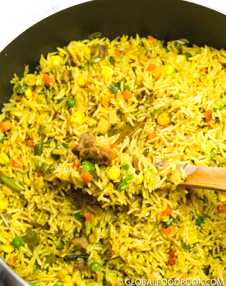 how to cook coconut rice video