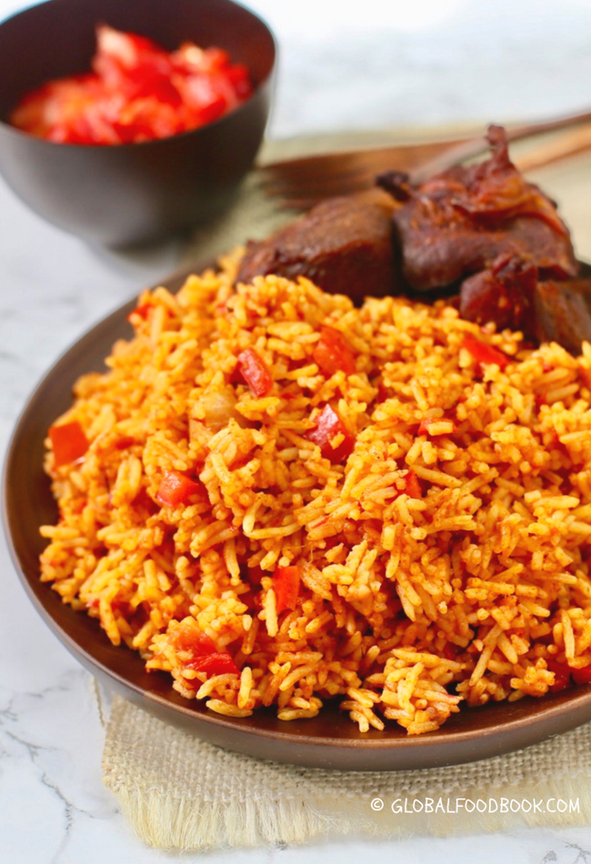 SUPER BASMATI JOLLOF RICE