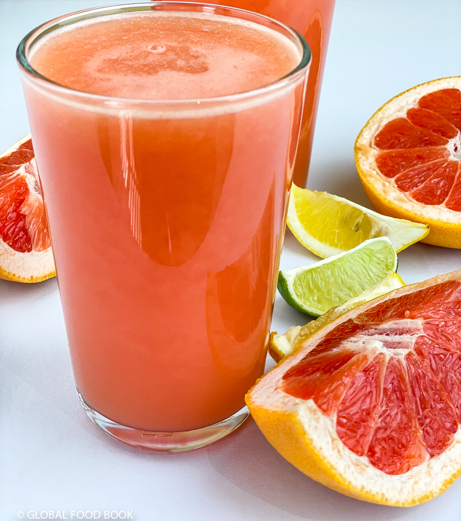 GRAPEFRUIT, LEMON AND LIME JUICE