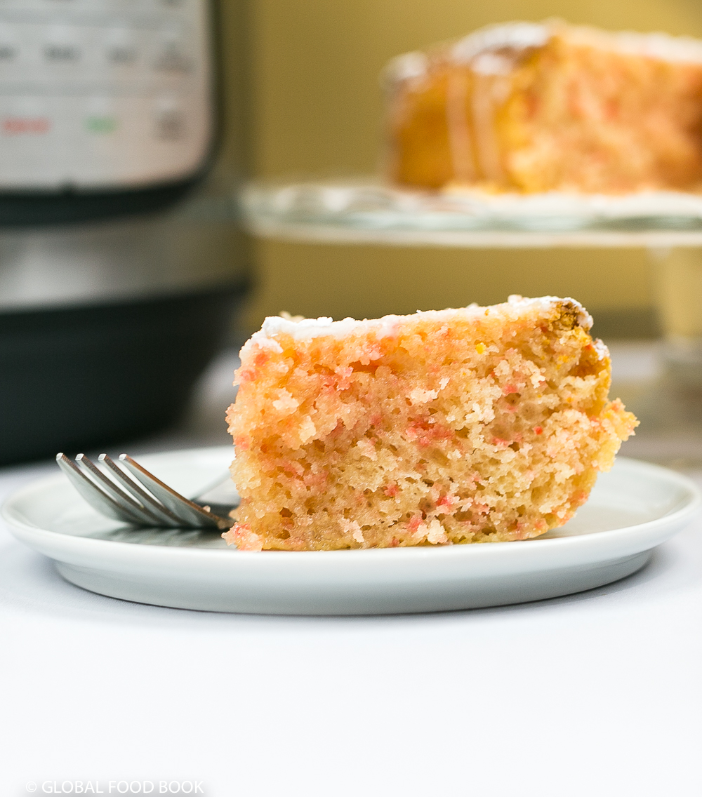 INSTANT POT CAKE || BETTY CROCKER CHERRY CHIP CAKE