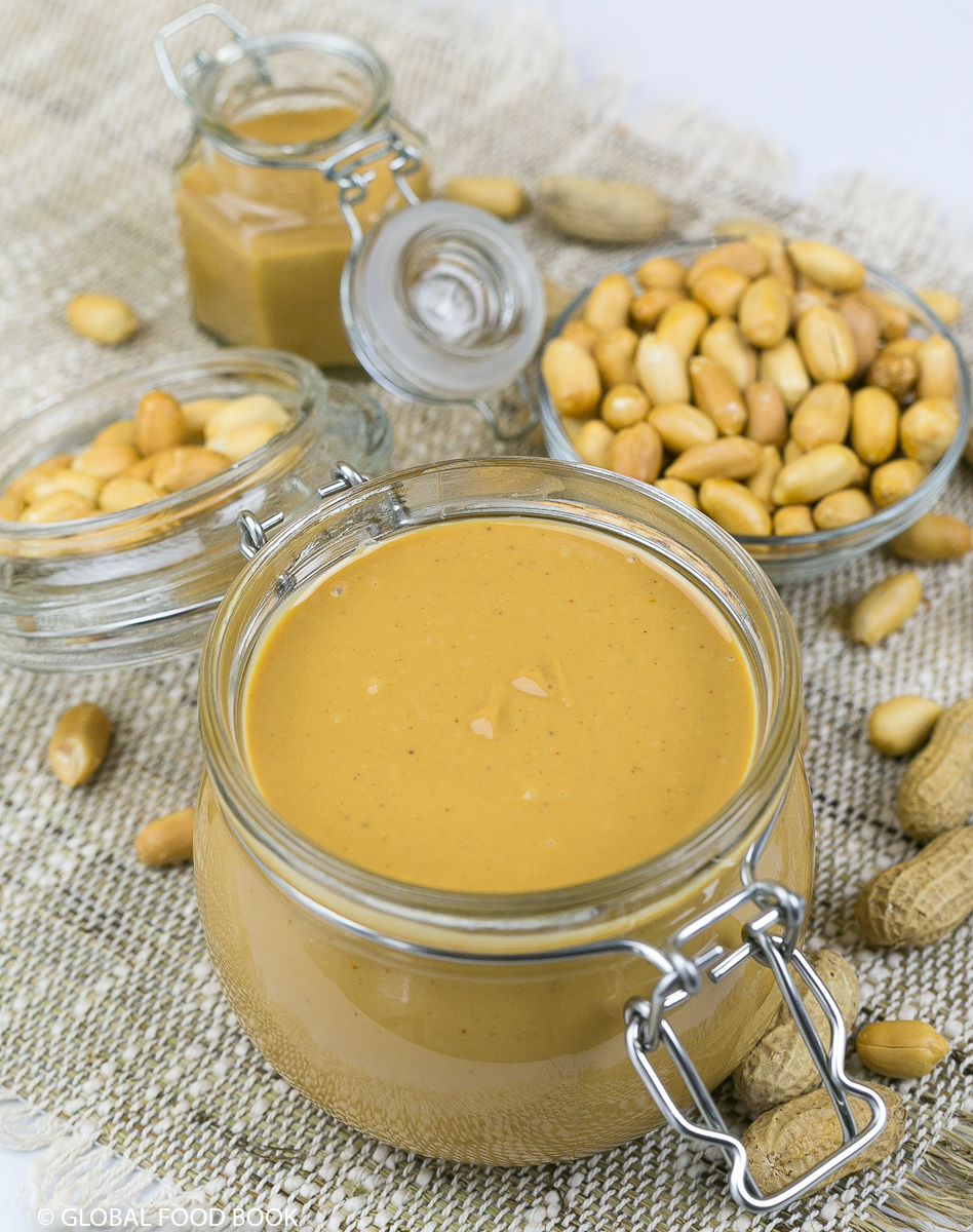 PEANUT BUTTER || HOW TO MAKE A CREAMY PEANUT BUTTER