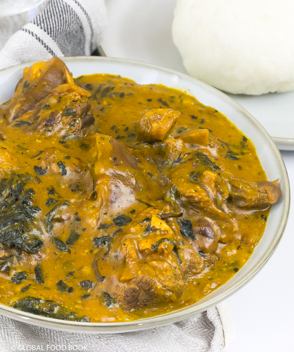 OGBONO SOUP || HOW TO COOK OGBONO SOUP WITH BITTER LEAF